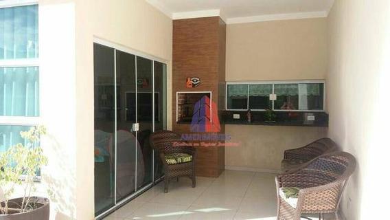 Casa Com 3 Dormitórios À Venda, 103 M² Por R$ 410.000,00 - Parque Novo Mundo - Americana/sp - Ca0586