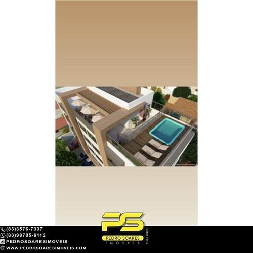 Apartamento Com 1 Dormitório À Venda, 55 M² Por R$ 165.000 - Intermarés - Cabedelo/pb - Ap4670