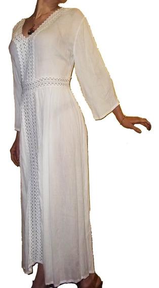 Vestido Hindu T Rapsodia Holi Importado India Boho Yoga