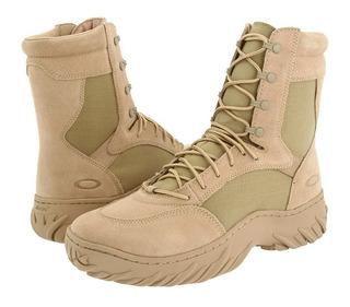 Bota Oakley Assault Boots Desert - Coturno, Militar, Ap Vest