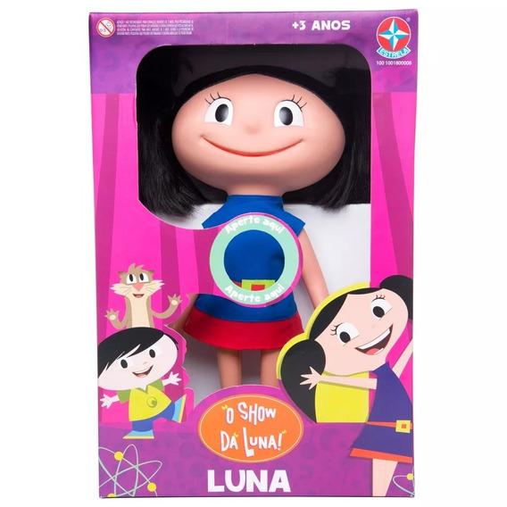 Boneca Luna Com Som - O Show Da Luna - Estrela Original