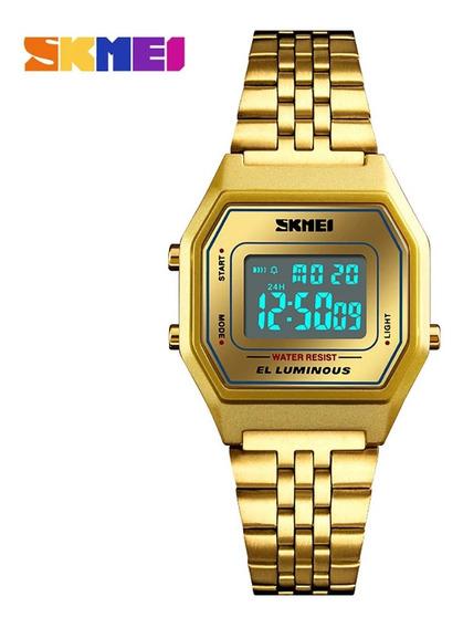 Relógio Feminino Digital Skmei Vogue