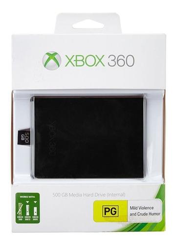 Imagen 1 de 1 de Xbox 360 Hard Drive 500 Gb Original