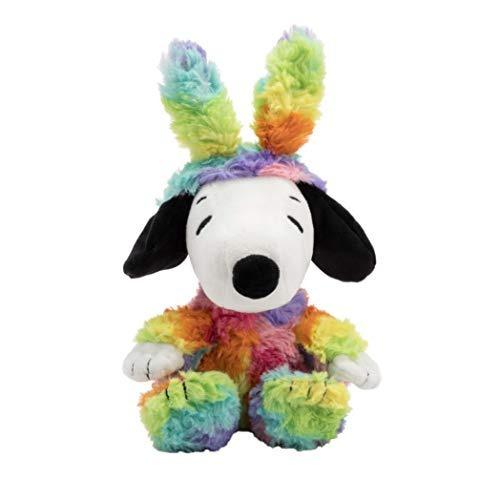 Sello Snoopy De Pascua De Peluche Con Orejas De Conejo En Co