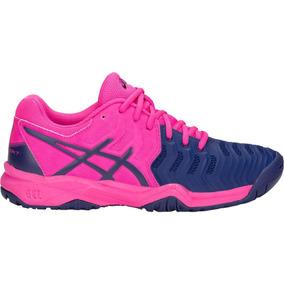 Tenis Asics Gel-resolution 7 Marinho/rosa