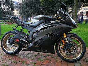 Yamaha R6r Gris Mate Modelo 2014 Solo Efectivo, No Permutas!