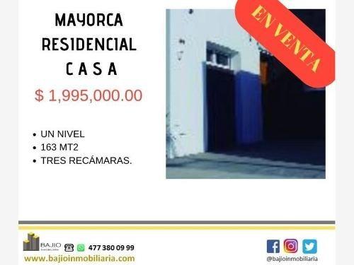 Casa Sola En Venta Residencial Mayorca