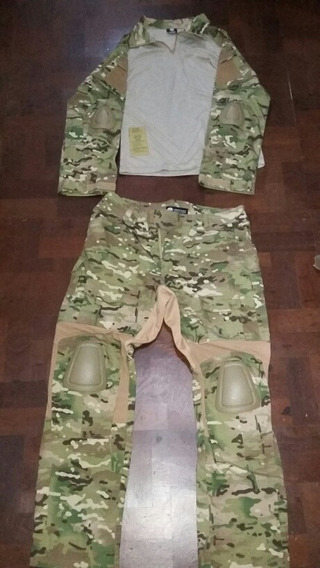 Uniforme Emerson G2 Multicam Combat Shirt Xl Y Pantalón Xl