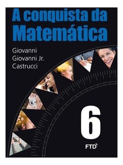 A Conquista Da Matemática - 6º Ano Barato