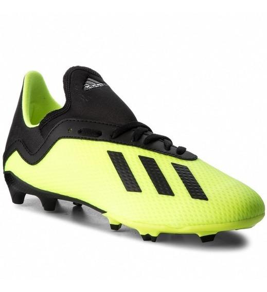 Tacos De Fútbol adidas X 18.3 Fg (db2418) Junior