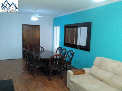 Alugo Apartamento Mobiliado De 02 Dormitórios Na Ponta Da... - 960