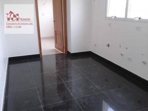 Apartamento Com 4 Dormitórios À Venda, 364 M² Por R$ 2.500.000,00 - Jardim - Santo André/sp - Ap0075