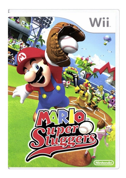 Mario Super Sluggers - Nintendo Wii - Usado - Original