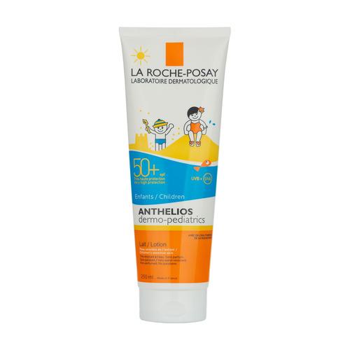 Protector Solar La Roche-posay Anthelios Xl Leche Dermopediátrica Pomo Resistente Al Agua Fps50 X 250 Ml