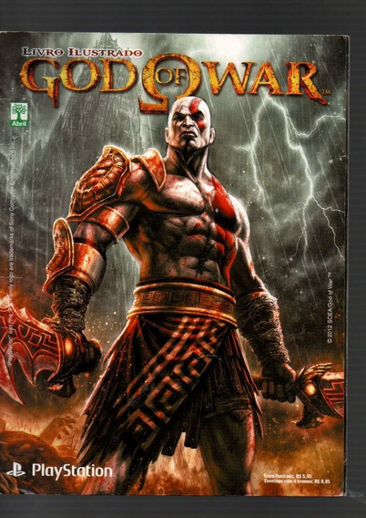 Álbum De Figurinha God Of War - Quase Completo Playstation