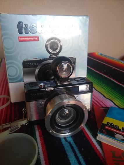 Câmera Analógica Lomography Fisheye 2