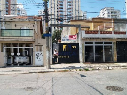Galpão Para Alugar, 400 M² - Vila Moreira - São Paulo/sp - Ga0798