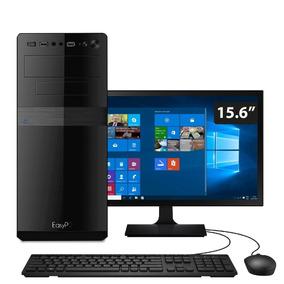 Computador Easypc I5 8gb Hd 1tb Monitor 15.6 Windows 10
