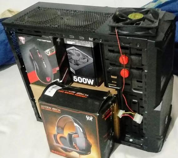 Gabinete Gamer Thermaltake + Fx 8120 + Gtx 680 + 14gb Ram Ddr3 + Fonte 500w 80 Plus