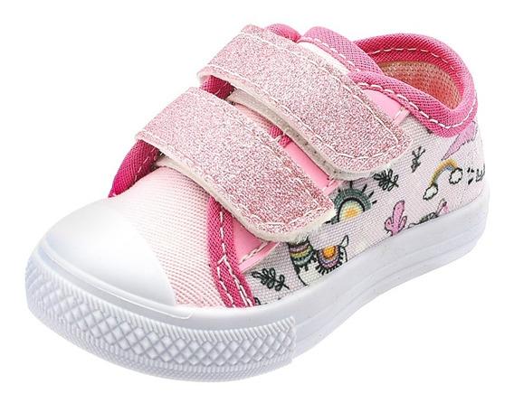 Tênis Infantil Bebe Pink E Preto Botinho Atacadão Calçados