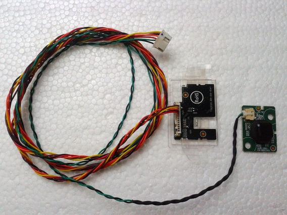 Kit Sensor Ir + Botão Power (c/ Cabos) Tv Philips 43pfg5102