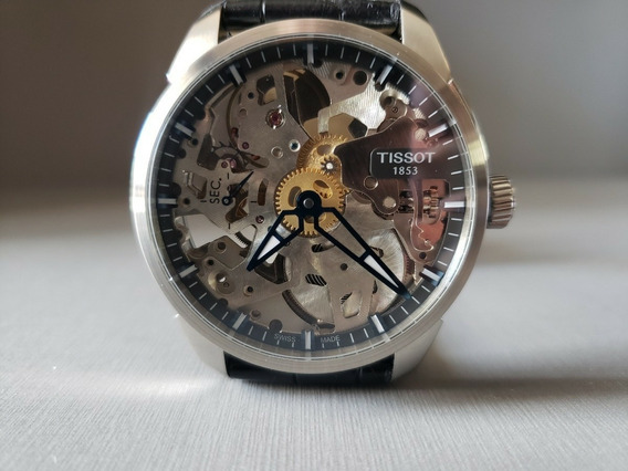 Relogio Tissot T-complication Squelette T070.405.16.411.00