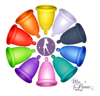Meluna Copa Menstrual Alemana Certificada Okotest Con Vaso