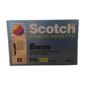 Fita 8mm Scotch Para Filmadoras Lacrada