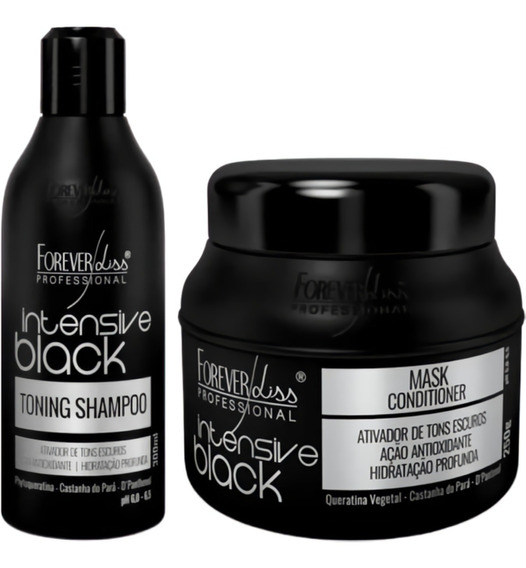 Shampoo + Masc Intensive Black Forever Liss