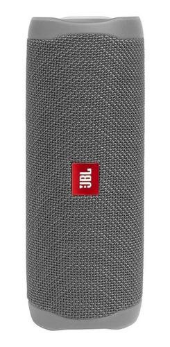 Caixa de som JBL Flip 5 portátil com bluetooth  grey