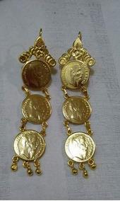 dfdf5647ec55 Preciosos Aretes Moneda Maximiliano Oro - Joyas y Relojes en Mercado ...