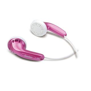 Genius Auricular Estero Ghp-200v Color De Oido Rosa