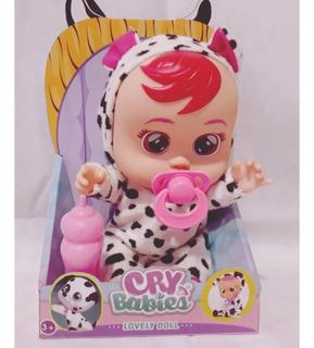 Cry Babies Lovely Doll Modelo K10, Muñeca/o 8 Modelos Difer.
