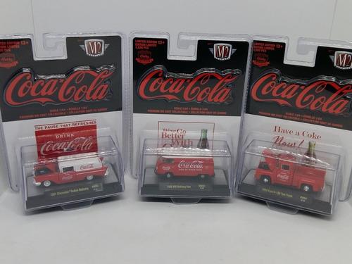M2 Coca Cola Serie 3 Pz  Red & White Hobby Serie A