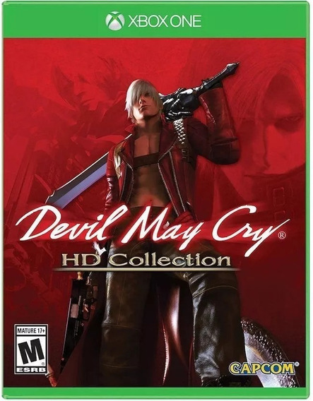 Devil May Cry Hd Collection - Xbox One Mídia Física Lacrado