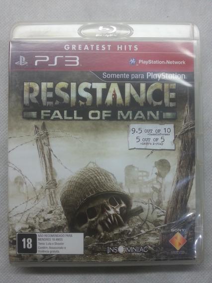 Jogo Ps3 Midia Fisica Usado Original Resistance Fall Of Man