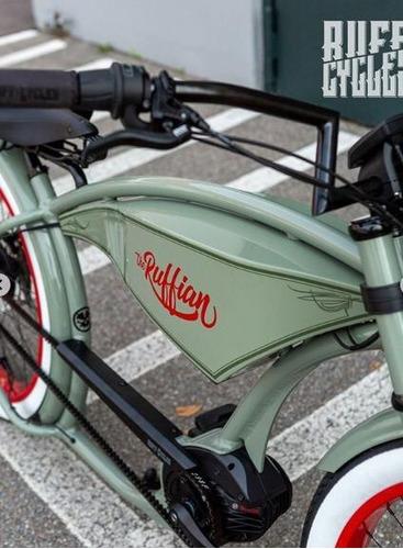 Consigue La Nueva Bicicleta Eléctrica Ruffian 6hp