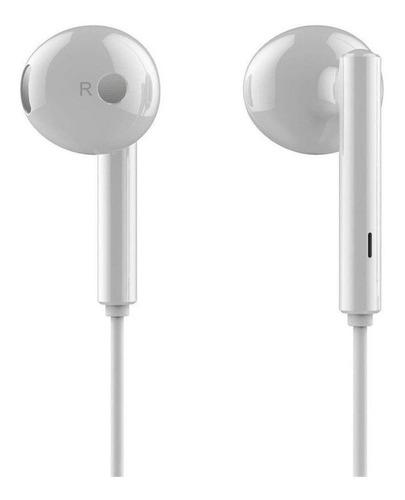 Imagen 1 de 3 de Audífonos in-ear Huawei AM115 blanco
