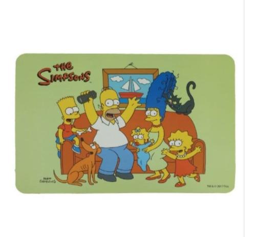 Mantel Individual Los Simpsons Diseño Original Deco Varios