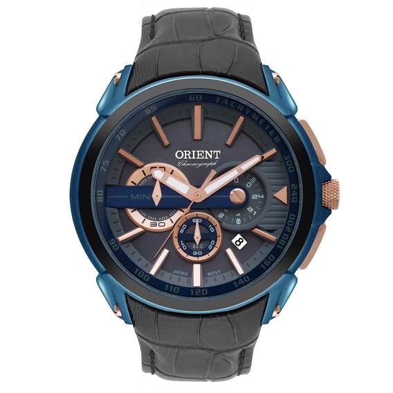 Relógio Orient Analógico Cronógrafo Masculino Mtssc028 G1gx