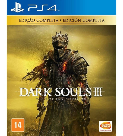 Dark Souls 3 Fire Fades Edition (mídia Física) Ps4