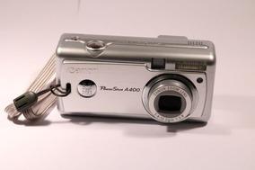 Câmera Fotográfica Digital Canon Power Shot A400 Com Manual