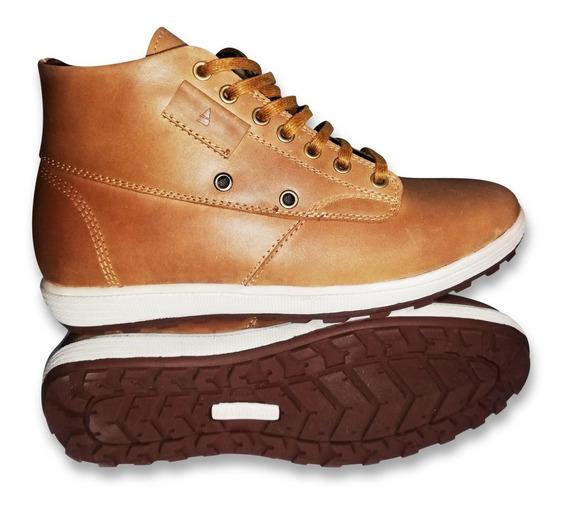 Zapato Botin Casual Para Caballero 100% Cuero - Amadeo Asto