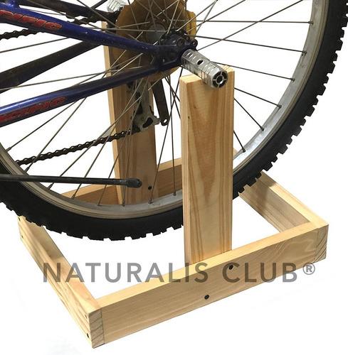 Soporte Bicicleta Fija Gimnasia En Casa Incluye Pedalines Mercado Libre