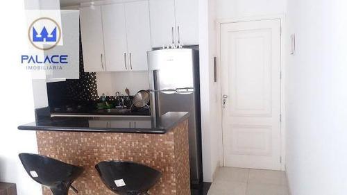 Apartamento Com 3 Dormitórios À Venda, 74 M² Por R$ 300.000,00 - Gleba Califórnia - Piracicaba/sp - Ap0148