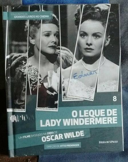 Dvd O Leque De Lady Windermere - Coleção Folha 8 - Novo!