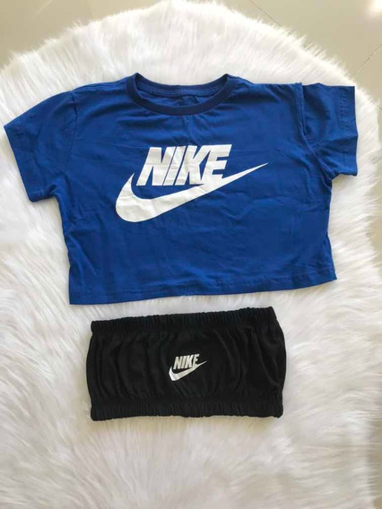 Cropped E Top Nike , Blusa Feminina Nike