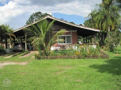 Imagem 1 de 8 de Chácara Em Condomínio Com 3 Dormitórios À Venda, 4300 M² Por R$ 905.000 - Ribeirão Grande - Pindamonhangaba/sp - Ch0014