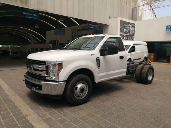 Ford F 350 2019 2p Chasis Xl Plus V8/6.2 Aut A/a