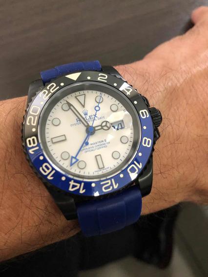 Relógio Automático Gmt - Master Ii Submariner Acabamento Eta